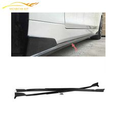 High Quality Carbon Fiber Car Side Apron Skirts  for Infiniti Q50 2014up Car Side Body Guard Fenders Car styling