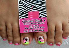 Pedicure Designs, Nail Designs, Manicure Y Pedicure, Toe Nails, Acrylic Nails, Diana, Nail Art, Polo, Toenails
