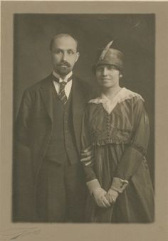 Retrato de boda de Juan Ramón Jiménez y Zenobia Camprubí