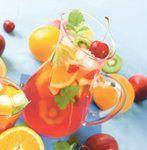 Крюшон с клубникой и манго • Безалкогольные