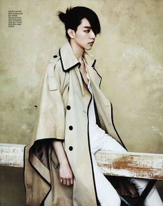 C.N Blue Jung Shin – Singles Magazine May Issue '12, This looks just Hot did they stick your hair up like that? Looks cute! :) D