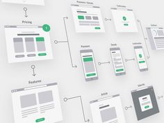 296 UX flowchart cards for desktop and mobile. Perfect tool for creating user journeys and UX flows using Sketch and Illustrator. Not only does it come with hundreds of elements,...