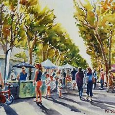 Phil Dickson - artist based in Lower Hutt Valley, Wellington, New Zealand New Zealand Art, Art Academy, Old Art, Art Club, Community Art, How To Become, Old Things, Street View, France