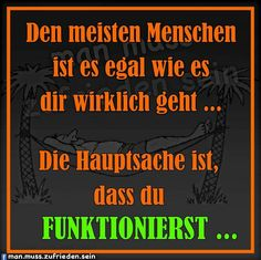 so isses wohl