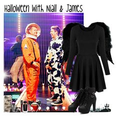 """""""Halloween with Niall & James"""" by giovannacarlamalik ❤ liked on Polyvore featuring INC International Concepts, Casetify, LORAC, NARS Cosmetics and Victoria's Secret"""