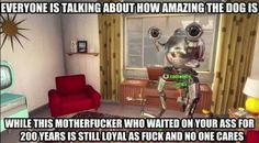 Codsworth is a very lovable companion! - Fallout 4