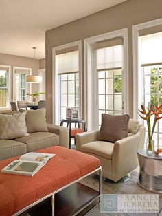 Family Room moment - Contemporary - Living Room - Images by Frances Herrera Interior Design | Wayfair