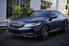 The 2016 Accord Coupe's available LED headlights are just one of its striking features.