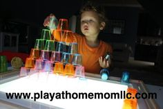 Cups…. They aren't just for drinking | Activities For Children | Child-Guided Play, Dollar Tree Activities, Uncategorized | Play At Home Mom