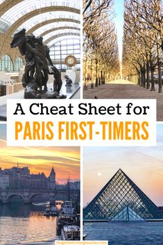 Planning a trip to Paris? Use this guide to plan the best things to do in Paris, from the Eiffel Tower to the Louvre. Get tips on where to stay and how to get around Paris. Plus, get a Paris Cheat Sheet to take with you on the go! Paris France Travel, Paris Travel Tips, Europe Travel Guide, Travel Destinations, Travel Ideas, Day Trip From Paris, European Travel Tips, By Train, Travel Around The World