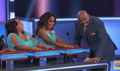 Watch game-show host Steve Harvey lose his mind over contestant's ridiculous answers