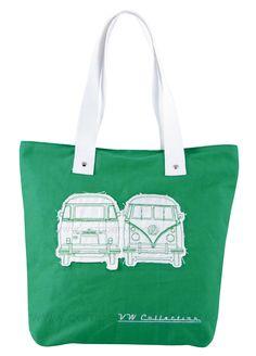 Campervan Gift - VW Campervan Green Canvas Shopper Bag, (http://www.campervangift.co.uk/vw-campervan-green-canvas-shopper-bag/)
