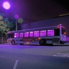 Aesthetic Neon japanese bus