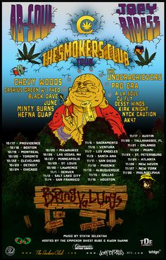The Smokers Club Tour w/ Joey Bada$$ and Ab Soul