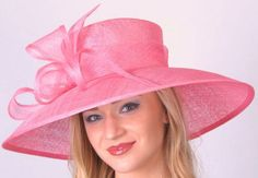 Light Pink Sinamay Lamp ...great hat-a-tude.com