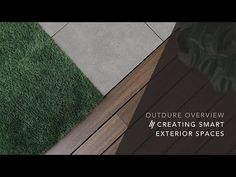 Outdure are changing how exterior spaces are designed and built with solution-designed products and systems. Our aim is to ensure your outdoor space is creat. Turf Installation, Deck Tile, Decking, Outdoor Spaces, Tile Floor, Tiles, Bbq, New Homes, Exterior