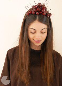 DIY Cherry Headband 2