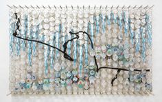 THOUSANDS OF KITES: THE ART OF JACOB HASHIMOTO; beautiful installations made from bamboo and paper kites
