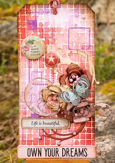 Ranger Ink, Handmade Tags, Artist Trading Cards, Mixed Media Canvas, Colored Paper, Distress Ink, Tim Holtz, Altered Art, Cardmaking