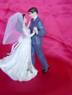 Awwww! where was THIS Air Force cake topper when I got married!?!?!?!?
