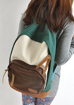 AutoM Hot Sale Womens Ladies Korean Version Canvas School Campus Backpack  Shoulder Bag New d08ee7dd31ec5