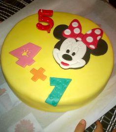 Pastel de cumpleaños minnie