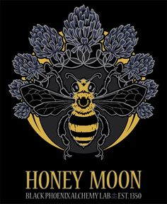 HONEY MOON Lunacy Tee | Black Phoenix Trading Post