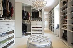 Nice closet...but I want all of the shoes!!!