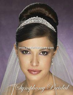 Symphony Bridal Tiara Style 4537cr