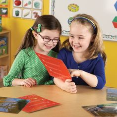 Get Wild about Animals, tell stories, make connections, learn new words and more with this set of 40 critical thinking photo cards. Manufactured by Learning Resources.