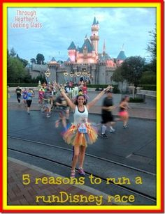 There are so many reasons to run a runDisney race. If you need convincing to sign up for a half or full marathon in Disney, check out my tips for why you should run in Disney World and Disneyland.