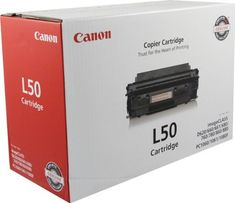 Canon 6812A001AA L50 BLACK TONER CARTRIDGE FOR CANON PC1060, PC1061, PC1080F AND CANON IMAG