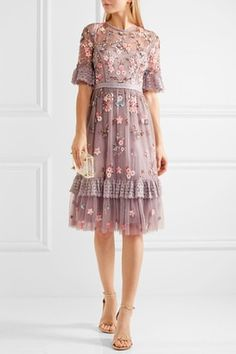Can't get enough of this embroidered dress.