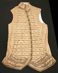 1760-1780, France - Cotton waistcoat