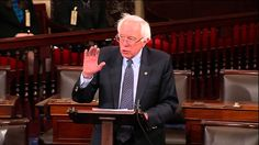 "SENATOR BERNIE SANDERS ROCKS!   In a dramatic gesture calling for action on climate change, Bernie and 2 dozen others STAGED AN ALL-NIGHT SENATE SESSION this week. ""What we're trying to do is to make the American people aware that the debate about climate change really is over, that the scientific community is virtually unanimous in agreeing that climate change is real................."
