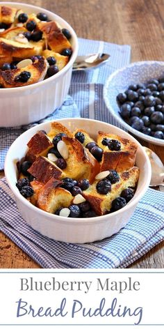 blueberry maple bread pudding simply fresh dinners more pudding simply ...