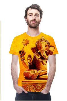 GANESHA by Janina Marcos, Galerie Freiraum, OArtTee specializes in creating amazing, vibrant and colorful Wearable Art