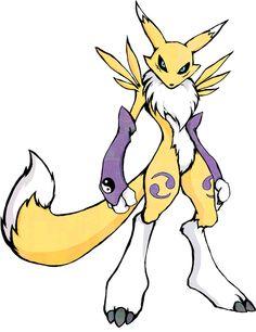Digimon Renamon shirt design by kaizerin ======================= #DigimonAdventure #tri