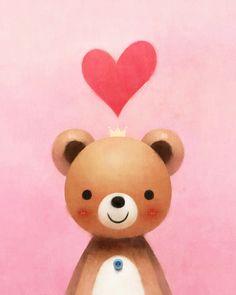 Heart by Dric , via Behance