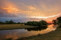 """Another magical sunset over Savute © <a href=""""http://www.jamesgifford.co.uk/"""" target=""""_blank"""">James Gifford</a>"""