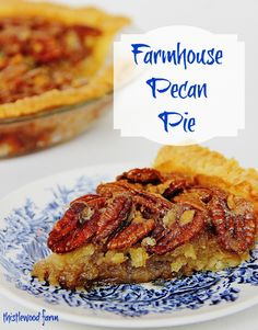100-year-old Pecan Pie Recipe.....this is the best pecan pie I have EVER eaten :)