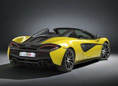 mclaren constructs a convertible roof for the 650S spider supercar  www.designboom.com