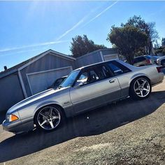 1993 Ford Mustang, Fox Body Mustang, Mustang Cobra, My Dream Car, Dream Cars, Notchback Mustang, Tractor Pictures, Ford Svt, Car Man Cave