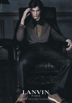 Nicolas Bemberg: Totally fulfilling our male model-turned-vampire fetish! TRJ
