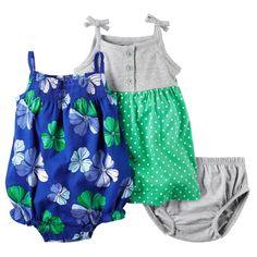 Baby Girl Carter's Henley Dress