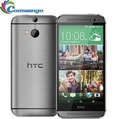 Original Unlocked HTC ONE M8 16GB/32GB 2GB RAM Quad-Core 2.5GHz 5.0 inch HD 1920*1080 4MP WIFI NFC Android 4.4 Mobile Phones - Get yours at http://s.click.aliexpress.com/e/UjIMRRZ #HTC #Smartphone #Android