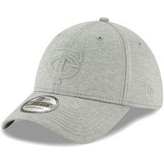 wholesale dealer 57448 2a5de Men s Minnesota Twins New Era Gray Logo Shade 39THIRTY Flex Hat,  29.99