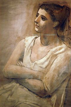 Woman in White by Pablo Picasso, 1923