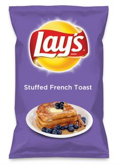 Wouldn't Stuffed French Toast be yummy as a chip? Lay's Do Us A Flavor is back, and the search is on for the yummiest flavor idea. Create a flavor, choose a chip and you could win $1 million! https://www.dousaflavor.com See Rules.