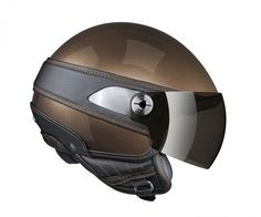 motorcycle helmet by hugo boss in collaboration with Nexx Pro. Scooter Helmet, Motorcycle Helmets, Bicycle Helmet, Riding Helmets, Hugo Boss, Helmet Design, Fashion Story, Custom Bikes, Vespa